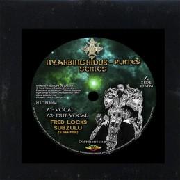 "Barry Issac / Amhari – War Zone / World Within World | 12"" Reggae On Top"