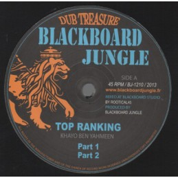 "Mighty Threes ‎– Rasta Business / Sata | 12"" Jah Fingers Music"