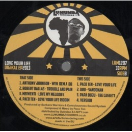 "Dub All Sense ‎– Rudebwoy Corporation EP | 12"" Lion's Den & 4Weed Records"