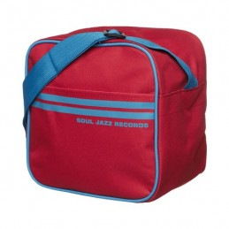 "7"" Record Bag Red and Blue..."