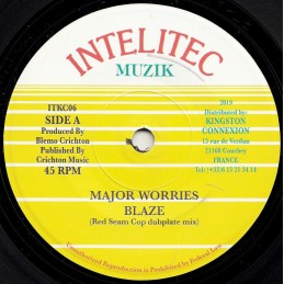 Major Worries ‎– Blaze Red...