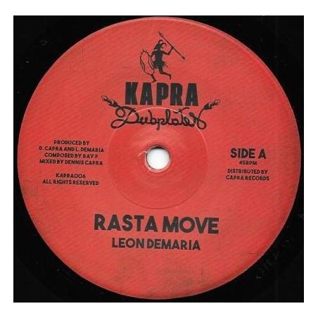 "Leon Demaria / Dennis Capra / Ray P - Rasta Move (7"" Kapra Dubplates)"