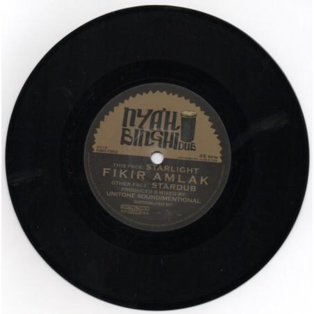 "Fikir Amlak / Unitone Soundimentional - Starlight / Stardub (7"" Nyahbinghi Dub)"