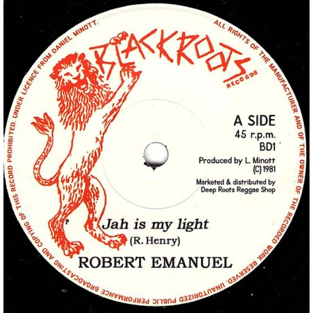 "Robert Emmanuel - Jah Is My Light (7"" Black Roots)"