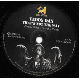 Teddy Dan ‎– Thats Not The...