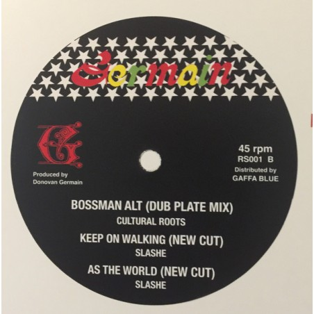 "Cultural Roots ‎– Mr. Boss Man (12"" Revolutionary Sounds / Germain)"