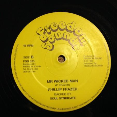 """Frankie Jones & The Nazarines, Philip Frazer – Company / Mr Wicked Man (12"""" Freedom Sounds)"""