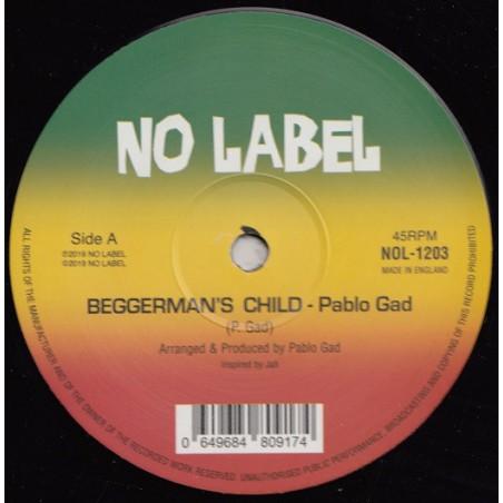 "Pablo Gad – Beggarman's Child (12"" No Label)"