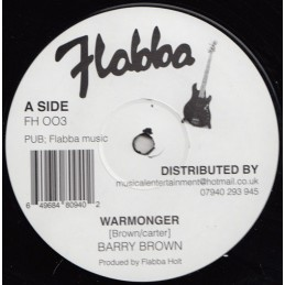 Barry Brown ‎– Warmonger...