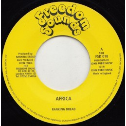 "Ranking Dread ‎– Africa (7""..."