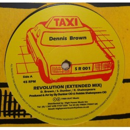Dennis Brown ‎– Revolution...