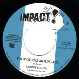 Dennis Brown ‎– Foot Of The...