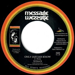 Tetrack ‎– Only Jah Jah...