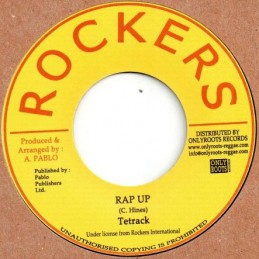 "Tetrack ‎– Rap Up (7"" Rockers)"