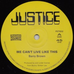 Barry Brown ‎– We Can't...