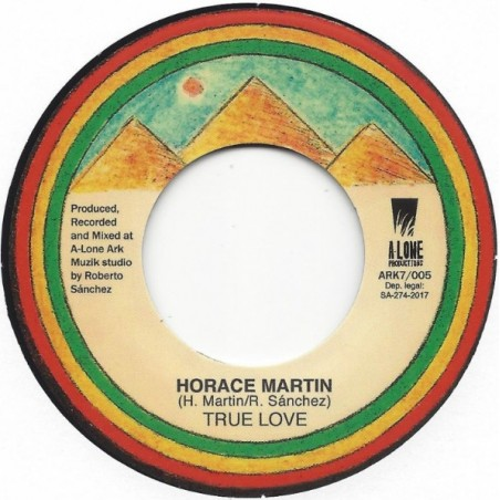 "Horace Martin ‎– True Love (7"" A-Lone)"