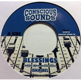 "Isha Bel ‎– Blessings (7""..."