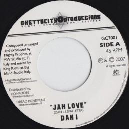 """Dan I – Jah Love (7""""..."""