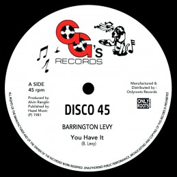 BARRINGTON LEVY - YOU HAVE...