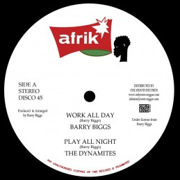 BARRY BIGGS - WORK ALL DAY...