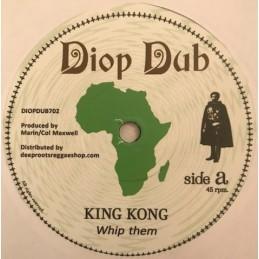 "King Kong – Whip Them (7""..."