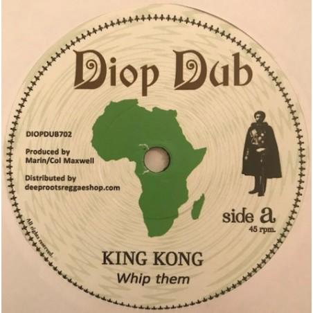"King Kong – Whip Them (7"" Diop Dub)"