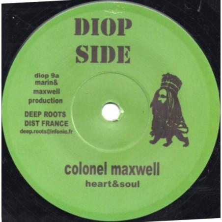 "Colonel Maxwell / Bush Chemists – Heart & Soul / Dub Cut (7"" Diop Side)"