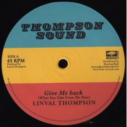 Linval Thompson ‎– Give Me...