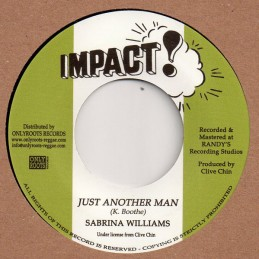 Sabrina Williams ‎– Just...