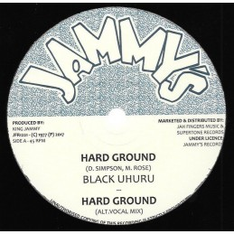 Black Uhuru ‎– Hard Ground...