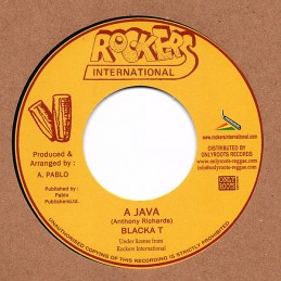 "Blacka T ‎– A Java (7""..."