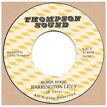 """Barrington Levy – Robin Hood (7"""" Thompson Sound)"""
