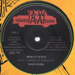 Black Uhuru ‎– World Is...