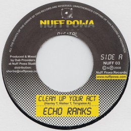 Echo Ranks ‎– Clean Up Your...