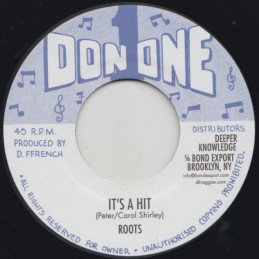 "Roots ‎– It's A Hit (7"" Don..."