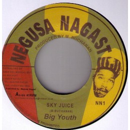 "Big Youth ‎– Sky Juice (7""..."