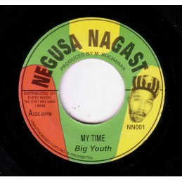 "Big Youth ‎– My Time (7""..."