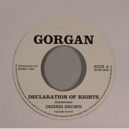 Dennis Brown - Declaration...