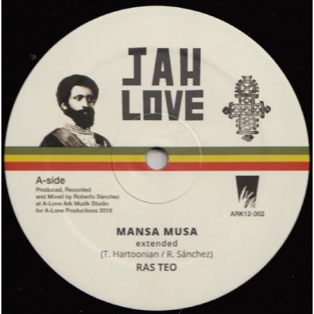 "Ras Teo – Mansa Musa / Bad Friday (12"" Jah Love)"
