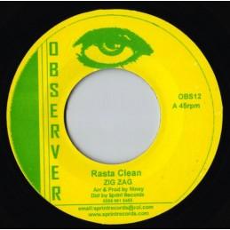 """Zig Zag – Rasta Clean (7""""..."""