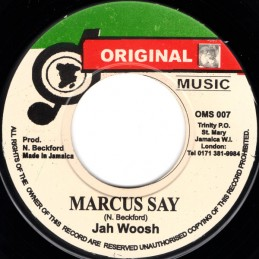"Jah Woosh ‎– Marcus Say (7""..."