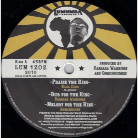 "Earl Zero, Jah Voice – Praise The King / Jah The Lion (12"" Lumumba)"