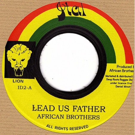 "African Brothers ‎– Lead Us Father / Lead Us Dub (7"" Ital)"