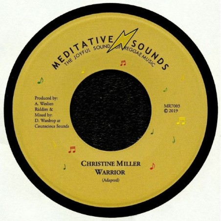 "Christine Miller ‎– Warrior (7"" Meditative Sounds)"