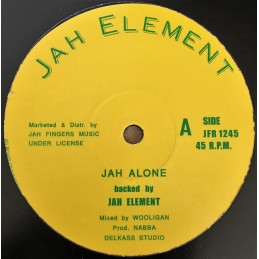 Jah Element ‎– Jah Alone /...