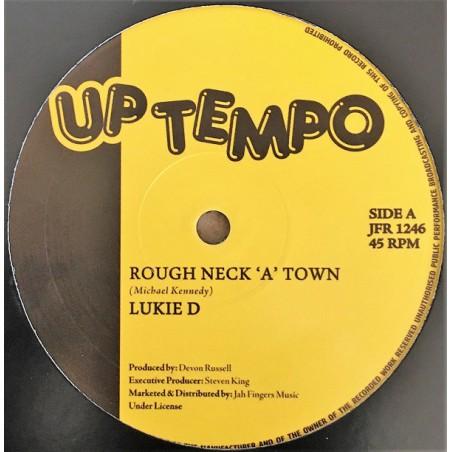 "Lukie D – Rough Neck A Town / Love Will Find A Way (12"" Uptown)"