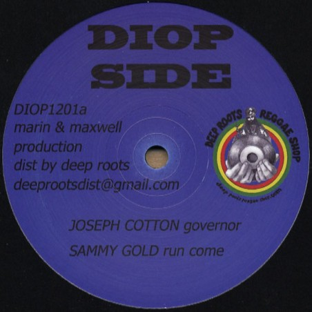 "Joseph Cotton, Sammy Gold, The Bush Chemists ‎– Governor (12"" Diop Side)"