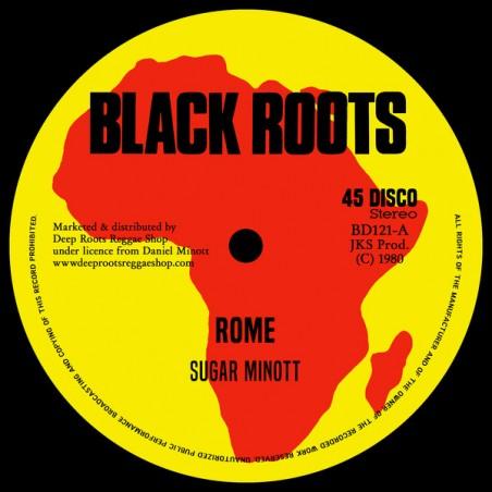 "Sugar Minott / Devon Russell – Rome / Let Sleeping Dogs Lie (12"" Black Roots)"