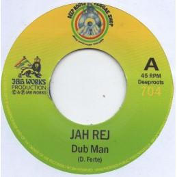 """Jah Rej – Dub Man (7"""" Deep..."""