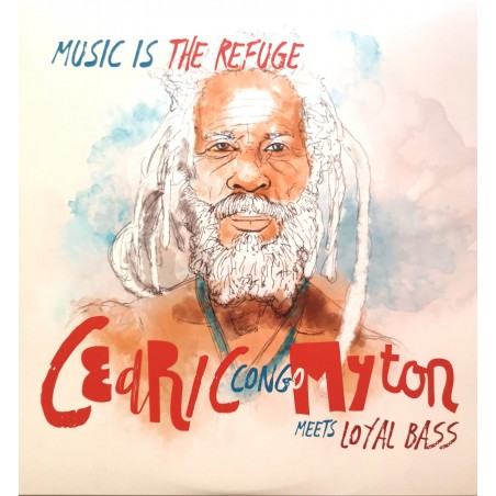"Cedric ""Congo"" Myton / Chalart58 / Loyal Bass - Music Is The Refuge EP (12"" Station 42)"